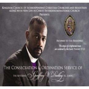 Pathway to the Bishopric: The Consecration of Geoffrey V. Dudley, Sr. CD Series